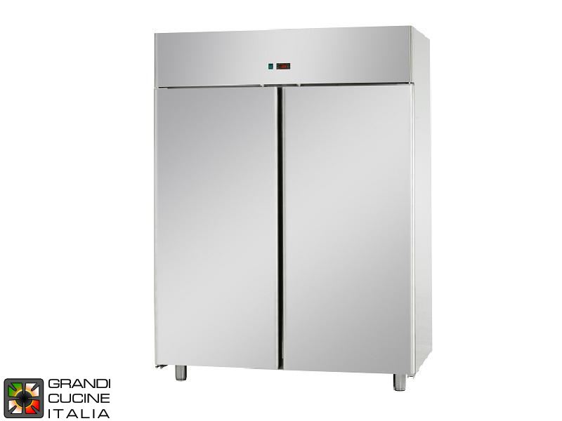Freezing Cabinet - 1400 Liters - Temperature -18 / -22 °C - Two Doors - Ventilated Refrigeration - Pastry Version