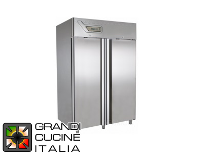 Freezing Cabinet - 1400 Liters - Temperature  -10 / -25 °C - Two Doors - Static Refrigeration - Flat Packed