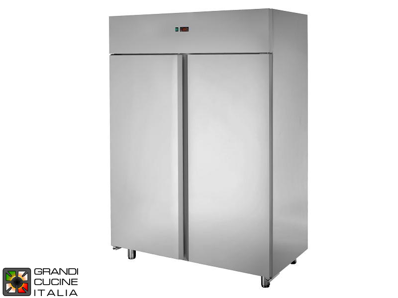 Refrigerated Cabinet - 1200 Liters - Temperature 0 / +10 °C - Two Doors - Ventilated Refrigeration