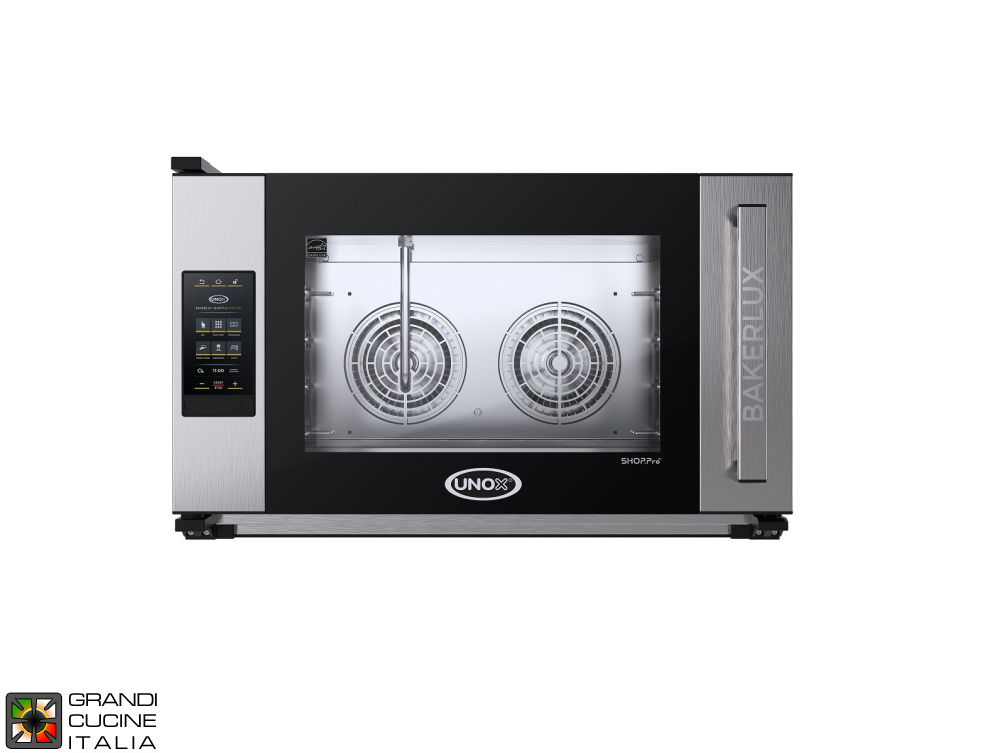 Multipurpose Electrical Oven ROSSELLA-MATIC - 04 EN 60x40 Trays - TOUCH Model