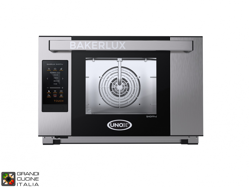 Multipurpose Electrical Oven STEFANIA - 03 EN 46x33 Trays - TOUCH Model