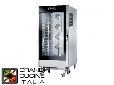 Multipurpose Electrical Oven for Gastronomy - 20 GN 2/1 Trays - Chef Lux Manual