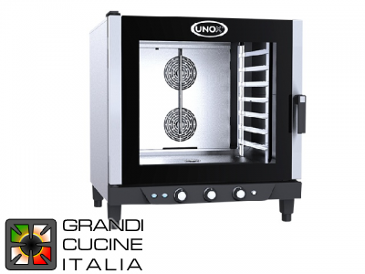 Multipurpose Electrical Oven for Gastronomy - 07 GN 1/1 Trays - Chef Lux Manual
