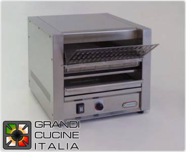 Roul toaster with mat filoGriglia for chips