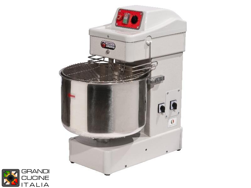 Spiral Mixer - Capacity 60 Liters - Fixed Head - Dual Speed - Reinforced Structure - 400V