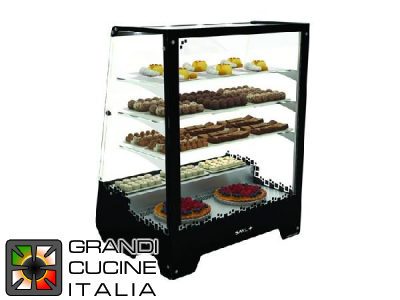 "Refrigerated Showcase ""TOWER"" - 3 Adjustable Shelves - Temperature Range +5/+10 °C"